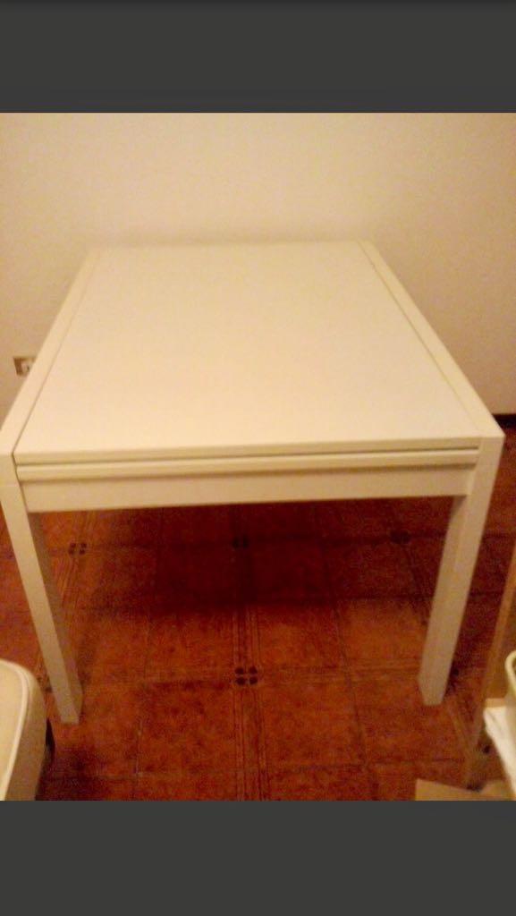 Elios96 Sas   tavolo bianco cucina rettangolare   E-Shopper