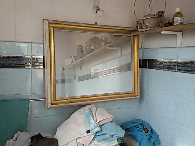 Elios96 Sas Specchio Ovale Dorato E Shopper